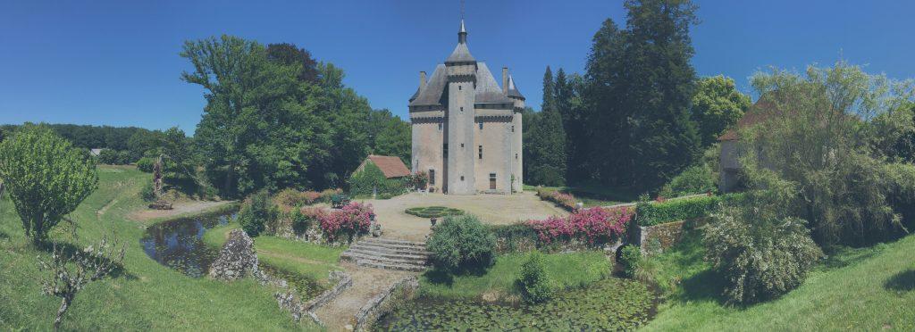 Présentation du château de la Chezotte